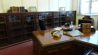 Yong Pung How - Chief Justice Yong's chambers in the Old Supreme Court Building