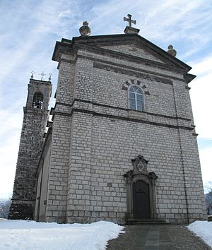 Ossimo - Parish church
