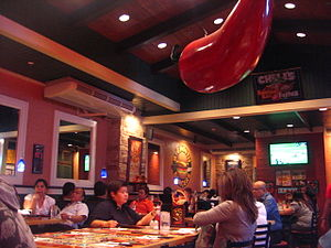 English: Chili's Restaurant at Rockwell Mall, ...