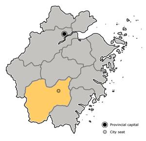 Lishui - Image: China Zhejiang Lishui