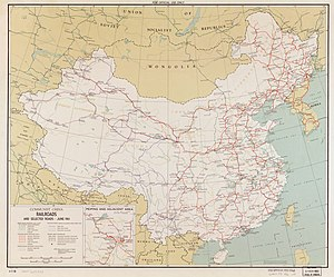 History Of Rail Transport In China Wikipedia - China historical map 1890 1907