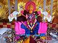 Chinalingala dussera 2018 Maha Lakshmi devi Alankaram.jpg