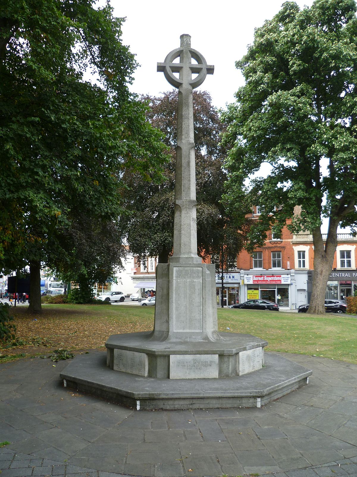 Chipping Barnet War Memorial - Wikipedia