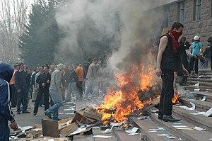 Moldova–Romania relations - 2009 Moldova civil unrest