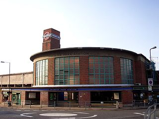 Chiswick Park tube station London Underground station