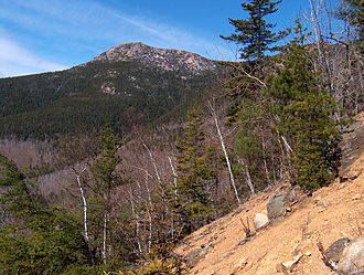 Mount Chocorua - The east face of Mount Chocorua from Carter Ledge