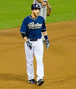 Chris Denorfia - Denorfia with the San Diego Padres