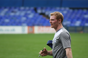 Chris Burke (footballer) - Training with Birmingham City, 2011