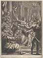 Christ Before Caiaphas, from The Passion of Christ, plate 10 MET DP835963.jpg