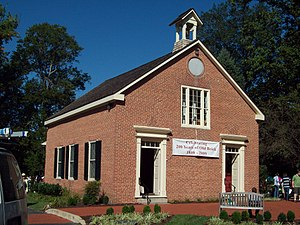 Guilford, Maryland - Christ Church of Guilford, rebuilt in 1809