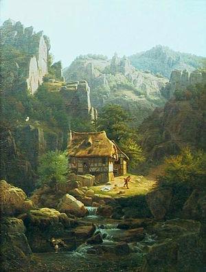 Chrystian Breslauer - Image: Christian Breslauer Mountain landscape
