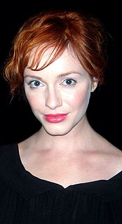 Christina Hendricks on screen and stage
