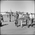 Christmas Special - Bob Hope and his star-studded cast touched down at Pleiku Air Base, Vietnam, December 19, 1966... - NARA - 542299.tif
