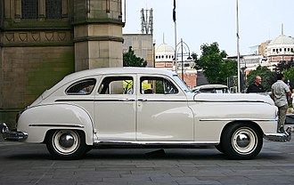 DeSoto (automobile) - 1946 four-door