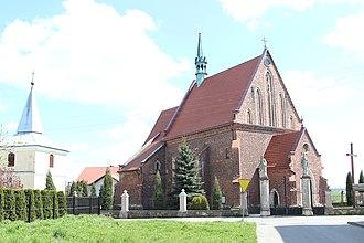 Żarnowiec, Silesian Voivodeship - Church of the Nativity of the Virgin Mary