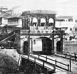 Churchgate in 1863
