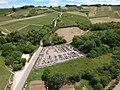 Cimetière d'Irancy (Yonne) depuis un drone.JPG