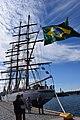 Cisne Branco Tallinna merepäevadel Lennusadamas.jpg