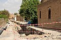 Citadel of Erbil, a street during the restoration work in 2014, near the Kurdish Textile and Cultural Museum.jpg