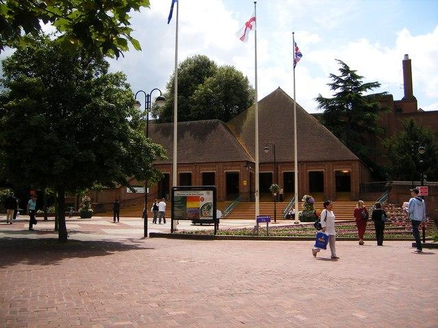 Civic Centre, Uxbridge - geograph.org.uk - 189483