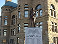 Civil War Memorial Hartford City Indiana.JPG