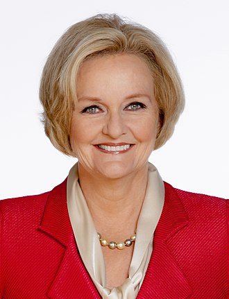 2018 United States Senate election in Missouri - Image: Claire Mc Caskill, 113th official photo (cropped 2)