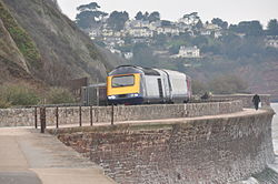 Class 43 on the sea wall at Teignmouth (0111).jpg