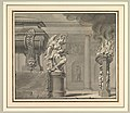 Classical Scene with a Tomb and Flaming Brazier MET DP819330.jpg