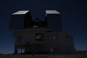 Las Campanas Observatory - Image: Clay telescope