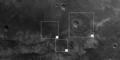 Close to Ma'adim Vallis, annotated nadir view ESA234445.tiff