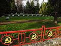 Cmentarz żołnierzy radzieckich Katowice ulice Kościuszki Górnośląska Piękna 14.JPG