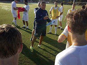 José Luis Villarreal - Coach Villarreal at the Armanda FC Development Camps
