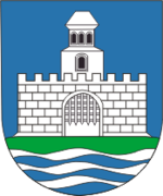 Coat of Arms of Łojeŭ, Belarus.png