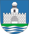 Coat of Arms of Łojeŭ, Belarus.png