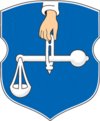 Coat of arms of Šklovas rajons