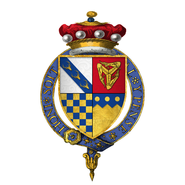 Coat of Arms of Sir Thomas Stanley, 2nd Baron Stanley, KG