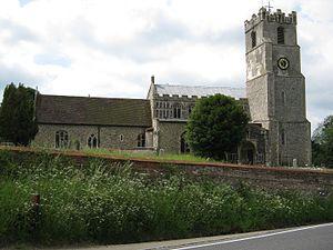Coddenham - Image: Coddenham. St Mary. 29.5.09