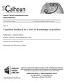 Cognitive feedback as a tool for knowledge acquisition (IA cognitivefeedbac1094534923).pdf