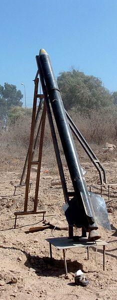 Iron Dome, Sistema Antiaéreo de Israel. 234px-Cohete_Qassam