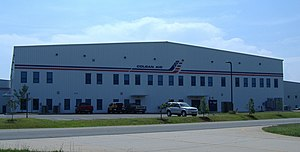 Colgan Air - Colgan Air building in Manassas, Virginia, USA