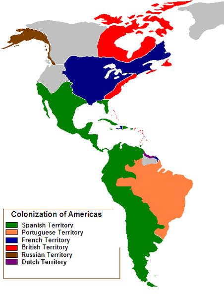 North America Map 1750.Vaizdas Colonization Of The Americas 1750 Png Vikipedija