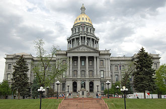 Colorado State Capitol - The Colorado State Capitol in Denver