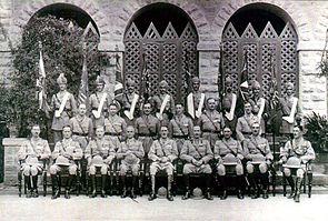 Colour Presentation, 1st, 4th, 5th and 10th Bns, Karachi, 15 November 1929