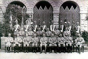10th Baluch Regiment - Image: Colour Presentation, 1st, 4th, 5th and 10th Bns, Karachi, 15 November 1929