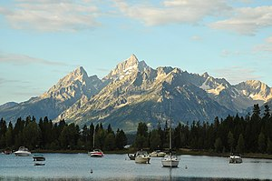 Jackson Lake - Jackson Lake from Colter Bay