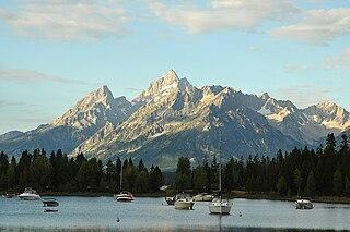 lake in Wyoming