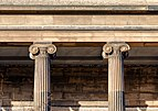 Column tops of Nithsdale Lodge, Glasgow, Scotland.jpg