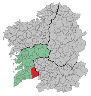A Paradanta Comarca in Galicia, Spain