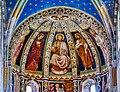 Como Basilica di Sant'Abbondio Interno Coro Affreschi 2.jpg