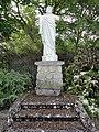 Condé-sur-Suippe (Aisne) Statue Sacré-Coeur.JPG